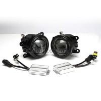 Автомобильная светодиодная линзованная противотуманная фара 5700К (FLP09W)