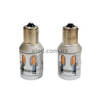 Светодиодные (LED) лампы PY21W с Canbus Yellow (Комплект - 2 шт) LJT24P