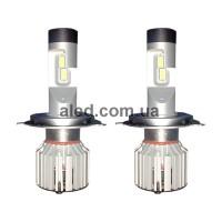 Светодиодные (LED) лампы H4 (ближний+дальний) 26W 6000K (RRH4M1)