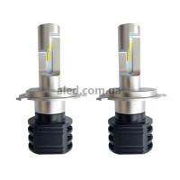 Светодиодные (LED) лампы H4 (ближний+дальний) 20W 6000K (SH4A02)