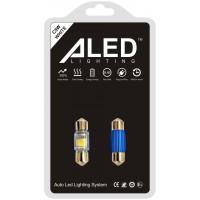 Светодиодные (LED) лампы C5W Festoon 31мм (Комплект - 2 шт) (F31)