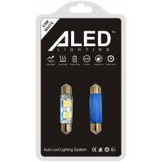 Светодиодные (LED) лампы C5W Festoon 39мм (Комплект - 2 шт) (F39)