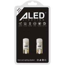 Светодиодные (LED) лампы T10 (W5W) (Комплект -2 шт) (NT10)