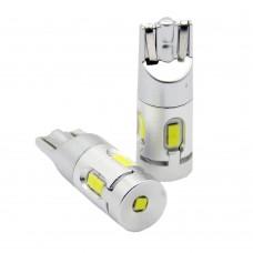 Светодиодные (LED) лампы T10 (W5W) с Canbus (Комплект -2 шт) (T10CAN)